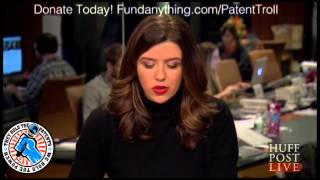 Adam Carolla on Huffington Post LIVE talks about Patent Trolls