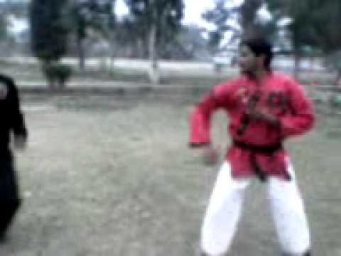 bando karate fight ali tai karate center bahawalpur youtube