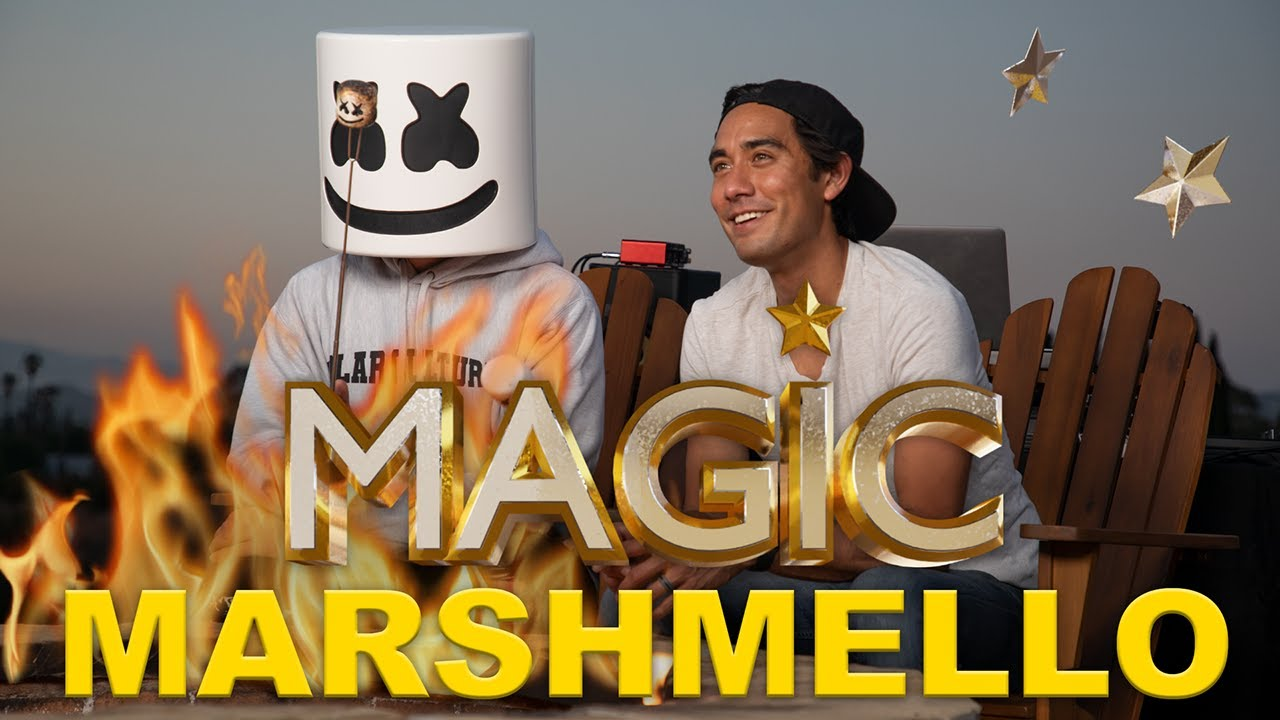 Marshmello Shares his Creative Process | Magic with Celebrities