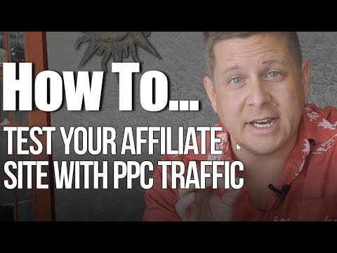 Affiliate Marketing With PPC – Fast Results – 300 Click Testing And Tracking