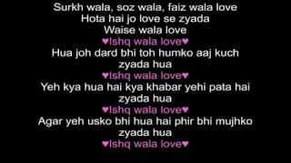 Ishq wala Love Student Of the Year Lyrics
