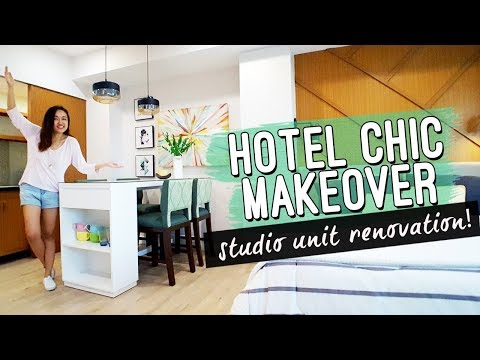 Hotel Inspired Studio Unit MAKEOVER Philippines // by Elle Uy