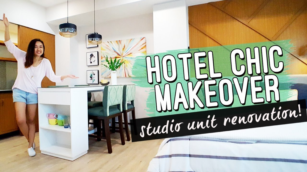 Hotel Inspired Studio Unit Makeover Philippines By Elle Uy Youtube