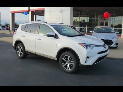 2016 Toyota Rav4 Xle Full Tour Start Up Amp Review Youtube