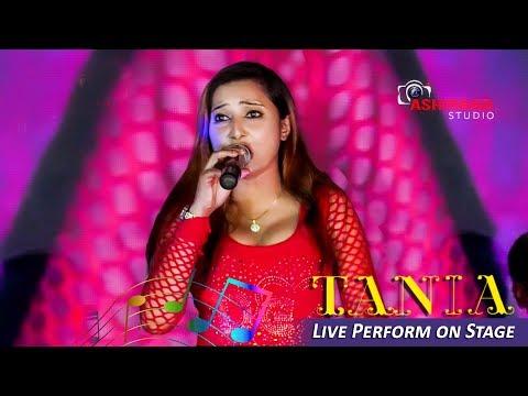 Bondhu Tin Din Tor Barite Gelam | Runa Laila | Bengali Dance Hits | Tania Live Performance