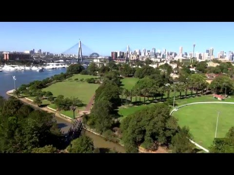 Sydney foreshore living at its best at Bridgeview, Annandale NSW