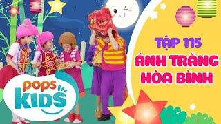 Mầm Chồi Lá Tập 115 - Ánh Trăng Hòa Bình | Nhạc thiếu nhi hay cho bé | Vietnamese Kids Song