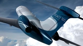 Spotlight On The Embraer Legacy 500 Cabin Interior – Aintv