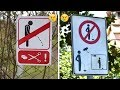 25+ Funny Signs Around the World That Will Make Your Day -Funny Weird Signs