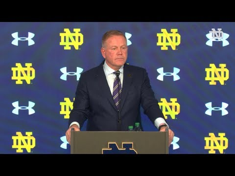 @NDFootball | Brian Kelly Post-Game Press Conference Vs. Boston College (2019)