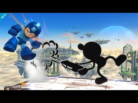 Top 10 Mr. Game and Watch Plays - Super Smash Bros for Wii U