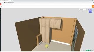 3D Online Furniture Planner- Create Furniture/Cabinet Design in 3D