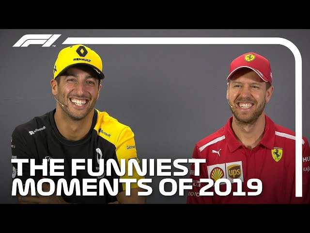 Funniest F1 Moments of 2019!