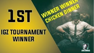 WINNERS IGZ PUBG PC TOURNAMENT | PUBG PC | LITE PUBG GAME | PUBG TRICK TO WIN |
