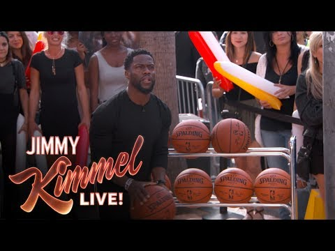 Thumbnail: Three-Point Challenge with Kevin Hart