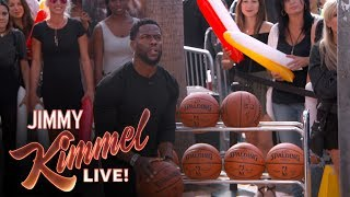 Three-Point Challenge with Kevin Hart