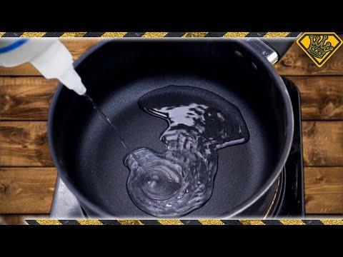 Don't Boil SUPER GLUE Flammable?