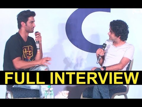 Sushant Singh Rajput FULL Interview At IFFI Awards 2017