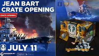 World of Warships Blitz: Jean Bart Ultimate Crate Opening