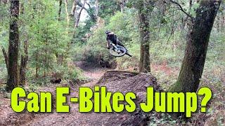 Can you Jump an E-Bike?!