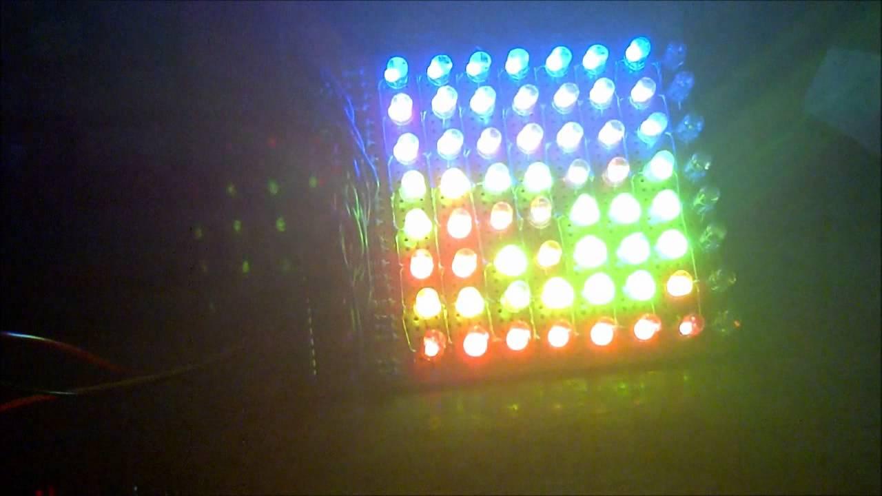 Single/bi/tri-color LED Matrix PWM driver for arduino