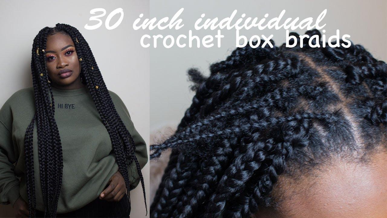 How To Do Crochet Box Braids Individual Method Cornrows Jorie Hair