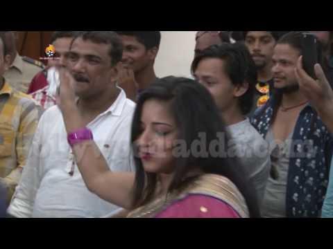 Video: Pawan Singh's CRAZY Dance At Nephew's Birthday Party | Bhojpuri Adda