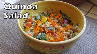 QUINOA: Nutrition, History, How to Cook + a Delicious Salad