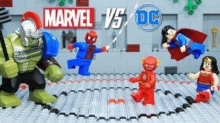 Lego Marvel vs DC Epic Battle Episode 1