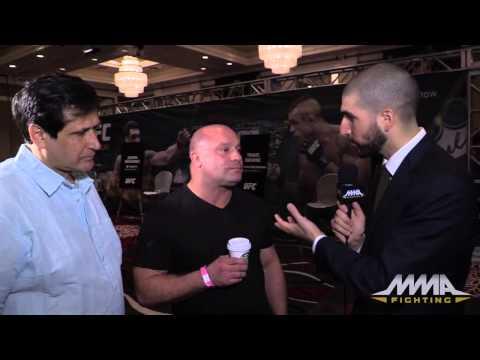 UFC 187: Matt Serra, Ray Longo Hold Court Before Weidman vs. Belfort