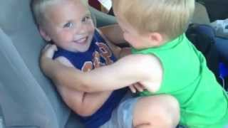 Twins Missed Each Other During Road Trip -- Family Fun Pack Cute Old Video!