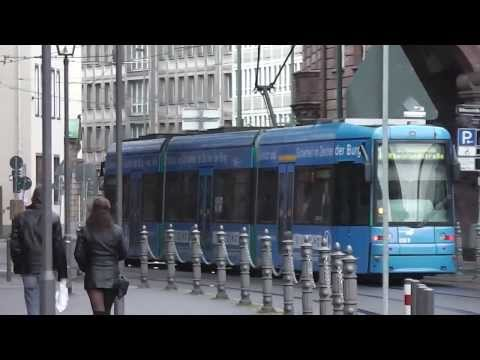 Trams in Frankfurt am Main - 22nd and 23rd February, 2014