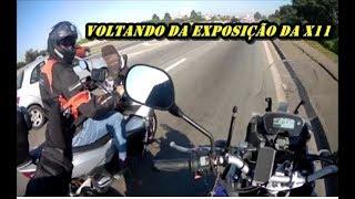 Voltando da exposição da X11 na Moto One São miguel SP