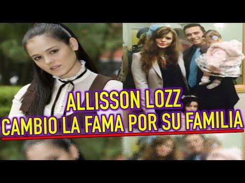 Allisson Lozz CAMBIO LA FAMA por SU FAMILIA ¿Dónde está?