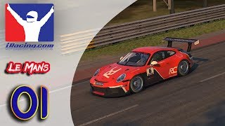 iRacing (FR) - Porsche iRacing Cup - Le Mans