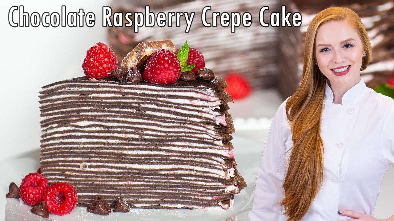 Best Chocolate Crepe Cake Recipe