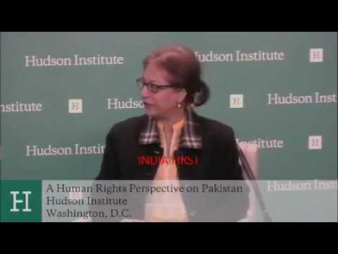 Hudson Institute  : A Human Rights Perspective on Pakistan׃ A Conversation with Asma Jahangir