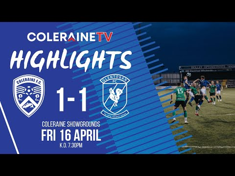 Coleraine Glentoran Goals And Highlights