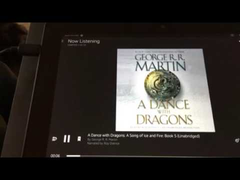 Play Your Audible books through your TV without an app