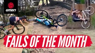 The Funniest Mountain Bike Crashes   GMBN's September Fails Of The Month