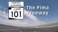 AZ 101 Loop Counter-Clockwise (North, West) - The Pima Freeway - Tempe to Phoenix - Exits 51 to 23
