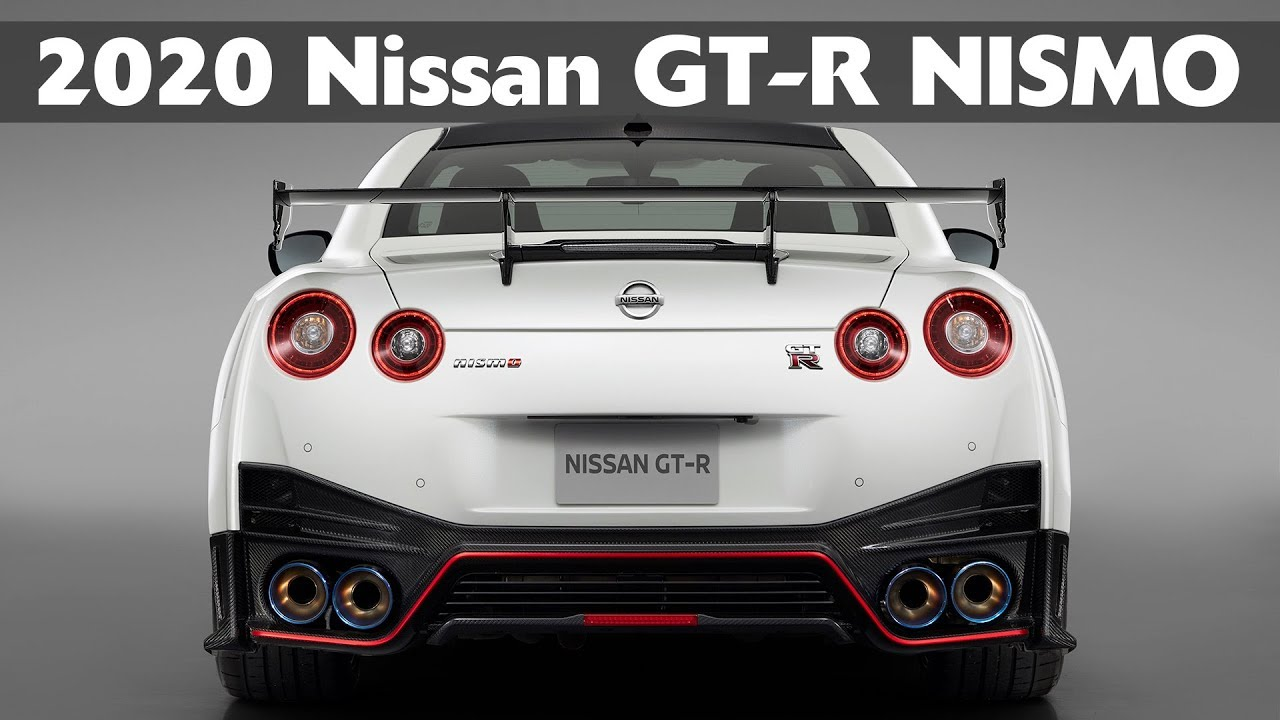 2020 Nissan Gt R Nismo Updated Godzilla Driving Exterior