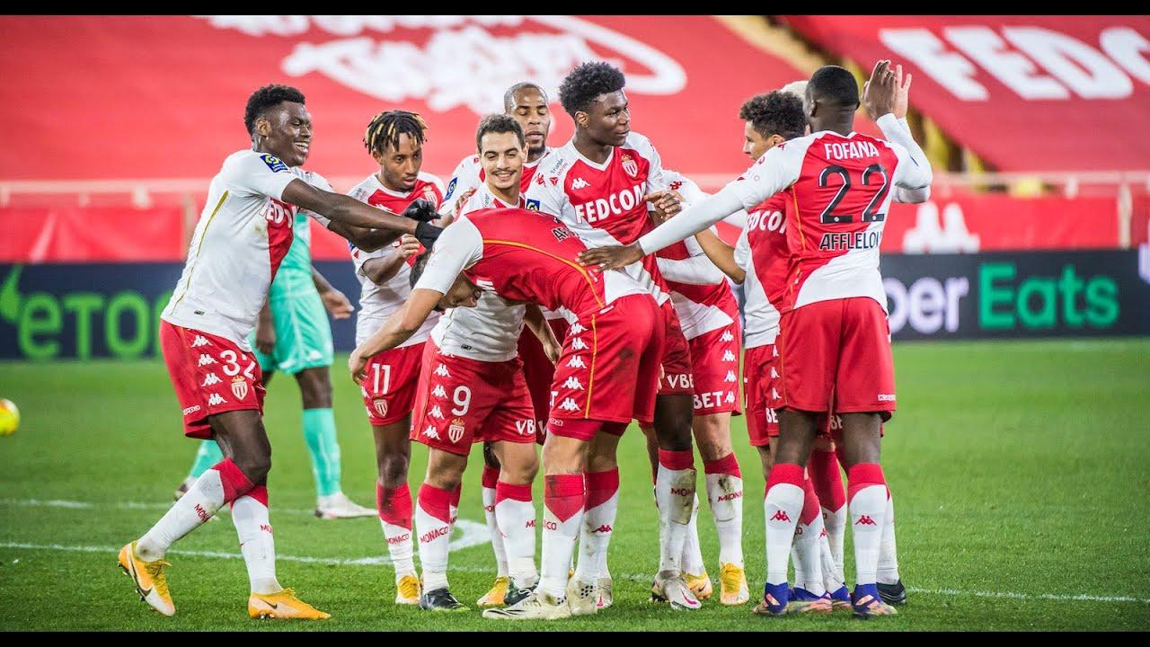 AS Monaco 3-0 SCO Angers (MARIPAN, VOLLAND, JOVETIC) - AS MONACO - YouTube