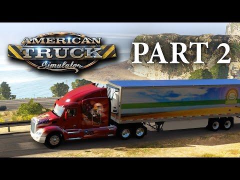 American Truck Simulator Gameplay Walkthrough Part 2 - DO I GET A LOAN ???