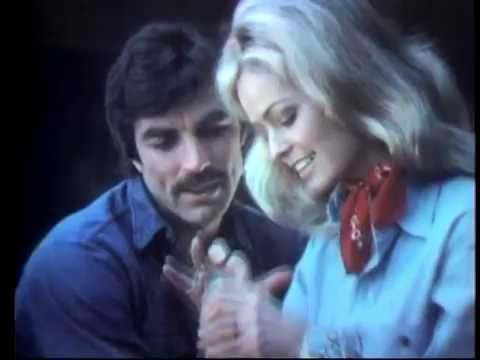 Farrah Fawcett and Tom Selleck 1972 commercial for Dubonnet