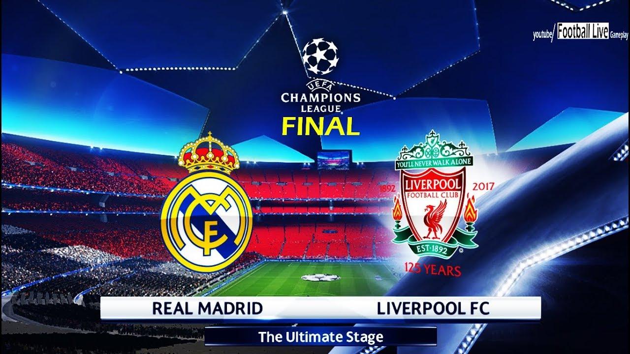 PES 2018 | Final UEFA Champions League | Real Madrid vs Liverpool