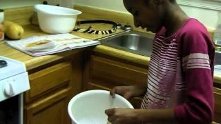 Cooking With Chef Clara (lemon Mustard Chicken Part 1)