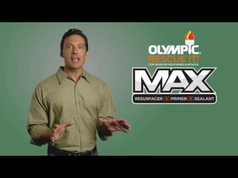 Olympic® RESCUE IT!® MAX - Applying the First Coat To Concrete
