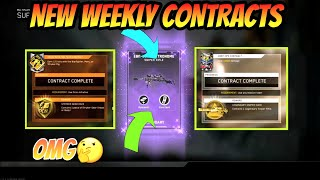*new* Cod Infinite Warfare Weekly Contracts! Stryker Gear Hack And Legendary Sniper Hack! Omg