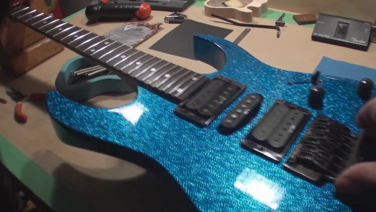 Ibanez RG Guitar Repair on